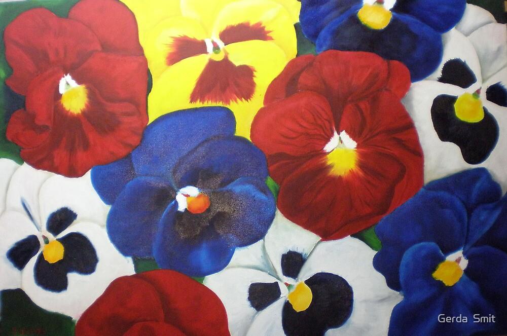 pansy's by Gerda  Smit