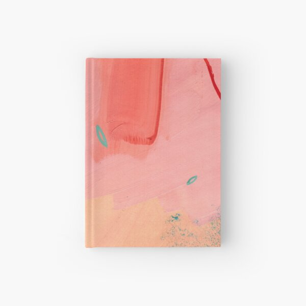 Peachy Abstraction No.2 Hardcover Journal