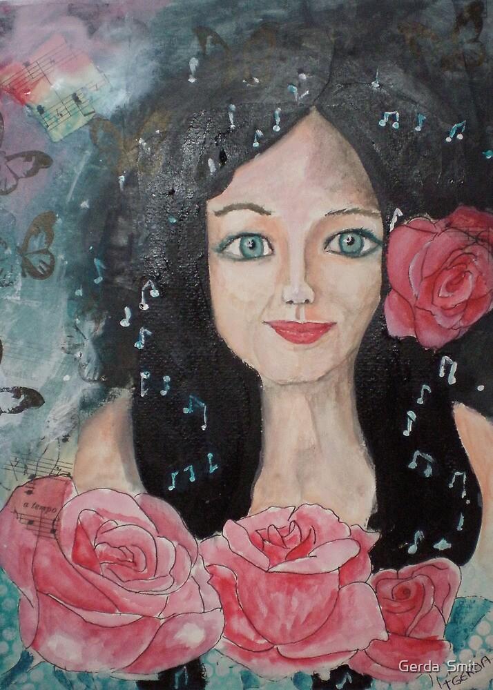 Roses by Gerda  Smit