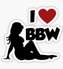 BBW Sticker