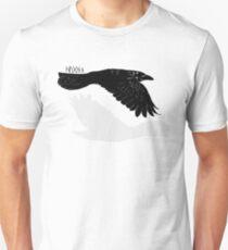Huginn and Muninn [with runes] Unisex T-Shirt