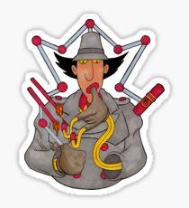 Inspector Dabet Sticker