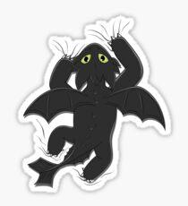 Furia Nocturna Sticker