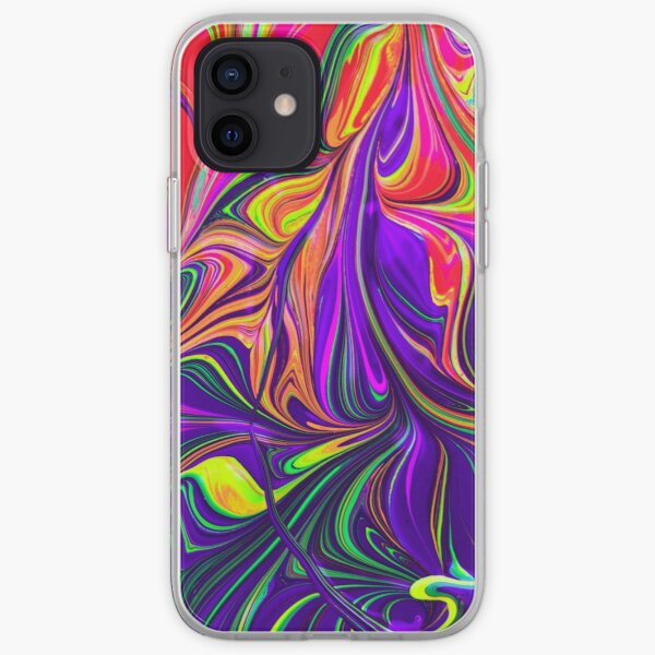 abstract pattern painting, iPhone or Samsung phone Case & Cover iPhone Soft Case