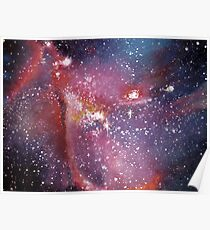 NGS 346 small magellanic cloud Poster