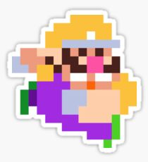 PixelStiff Wario Sticker