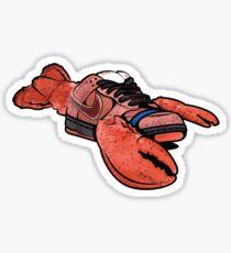 dunk red lobster sb Sticker