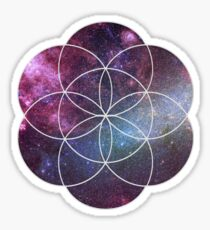 Cosmic Seed of Life Sticker