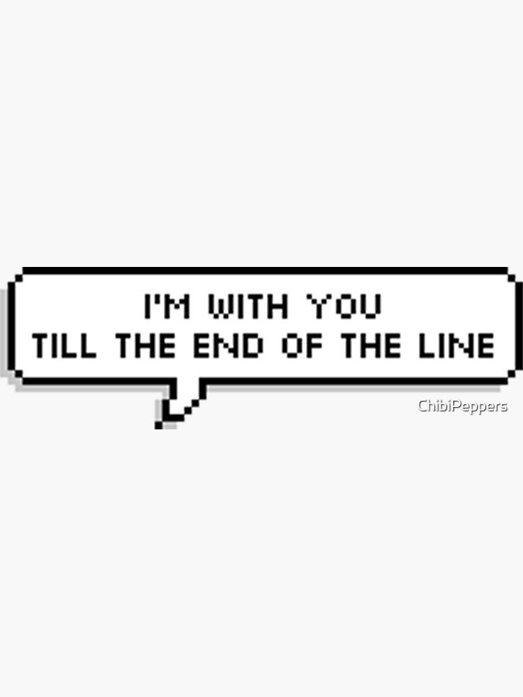 «Fin de la ligne» par ChibiPeppers