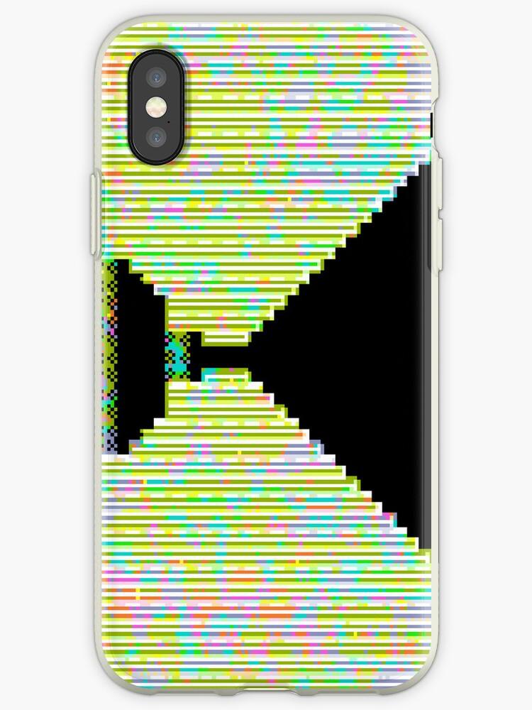 Endless Hallway iPhone Case by Pixel Glitch