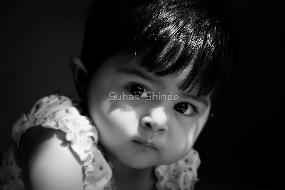 """""""prithvi"""" ...my niece by Suhas  Shinde"""