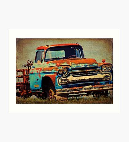 Grandpa's Ride Art Print