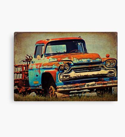 Grandpa's Ride Canvas Print