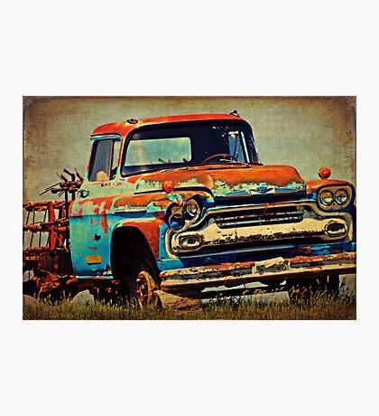 Grandpa's Ride Photographic Print