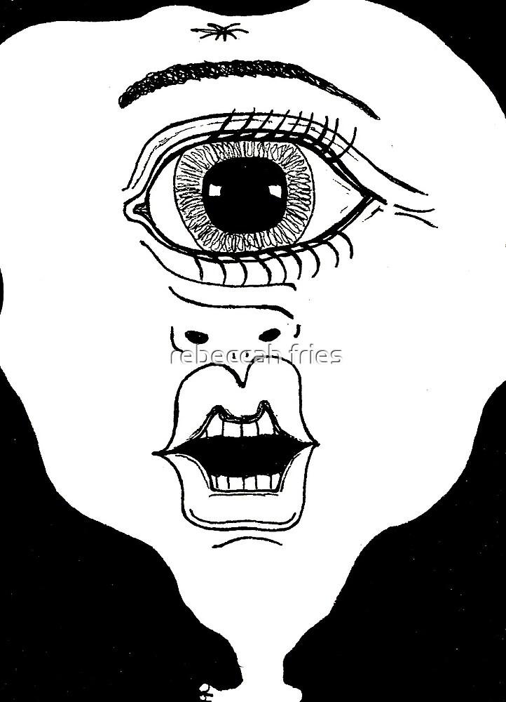 cyclops  by rebeccah fries