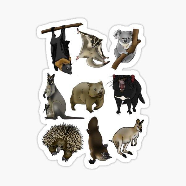 Aussie Animals Sticker