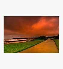 """Storm Path"" Photographic Print"