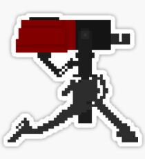 Sentry Gun (Level 1) Pixel Art Sticker