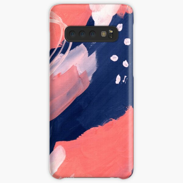 Pink Abstraction Samsung Galaxy Snap Case