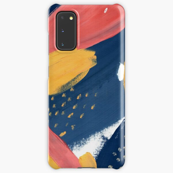 Pink/Yellow/Blue Samsung Galaxy Snap Case