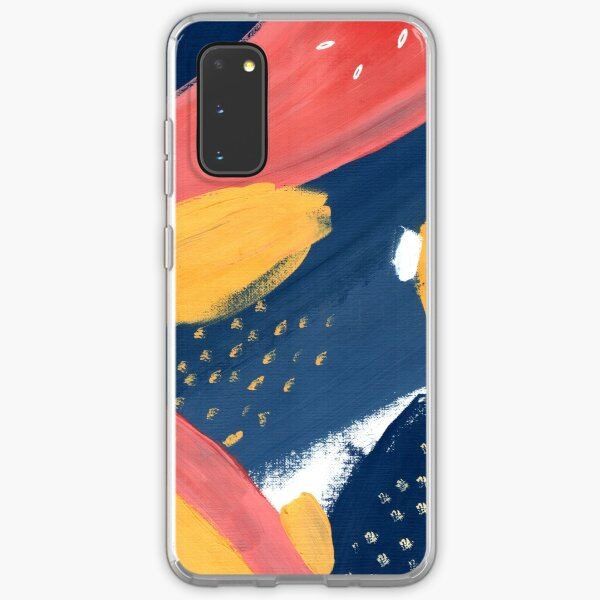 Pink/Yellow/Blue Samsung Galaxy Soft Case