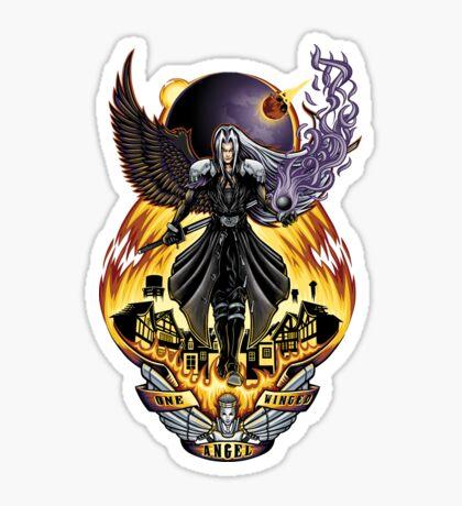 One Winged Angel - Sticker Sticker