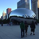 «Cloud Gate, Evening, Chicago - Summer 2012» de Pilgrim
