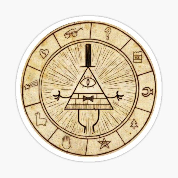 Una rueda de profecía Pegatina