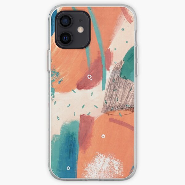 Peachy Abstraction No.3 iPhone Soft Case