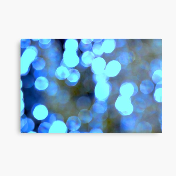 Blue lights Metal Print