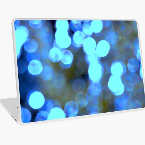 Blue lights Laptop Skin