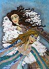 Angels Watching Us by Lisafrancesjudd
