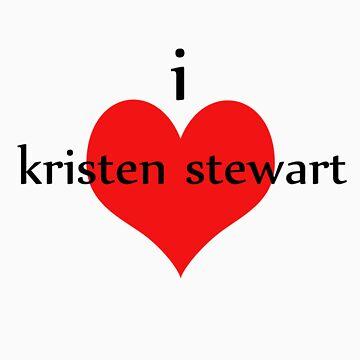 I love Kristen Stewart by buffysummers
