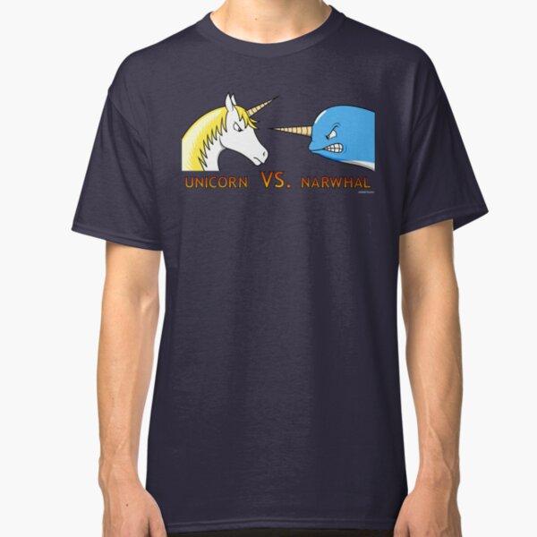 Unicorn Vs. Narwhal Classic T-Shirt