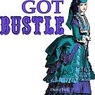 Bustle Sticker by Diana Vick