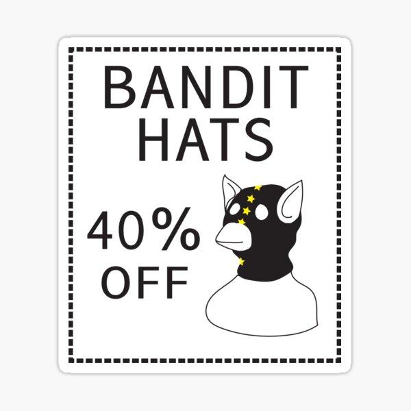 Bandit Hats Sticker