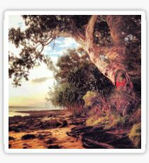 Quandamooka Country - North Stradbroke Island Australia Sticker