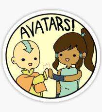 Avatars! Sticker