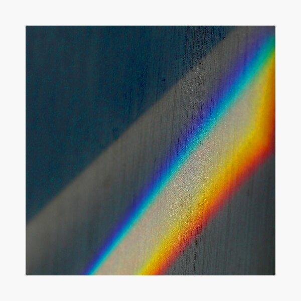 Spectrum rainbow Photographic Print
