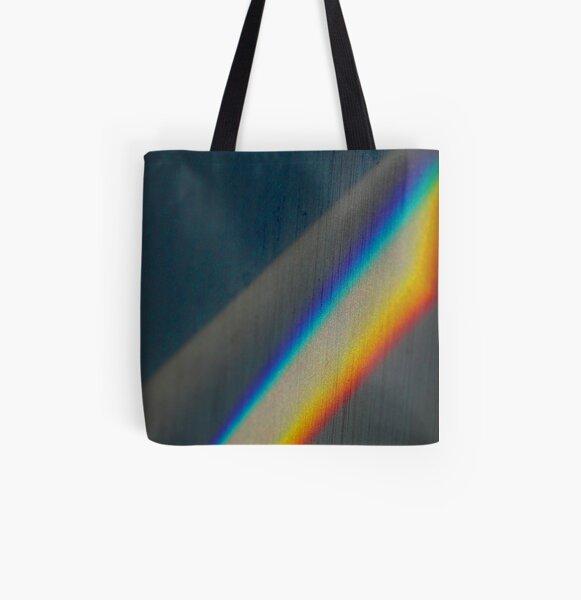 Spectrum rainbow All Over Print Tote Bag