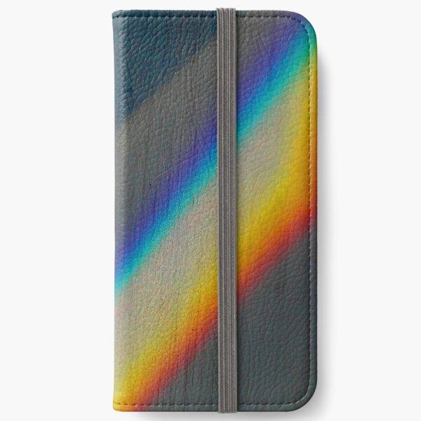Spectrum rainbow iPhone Wallet