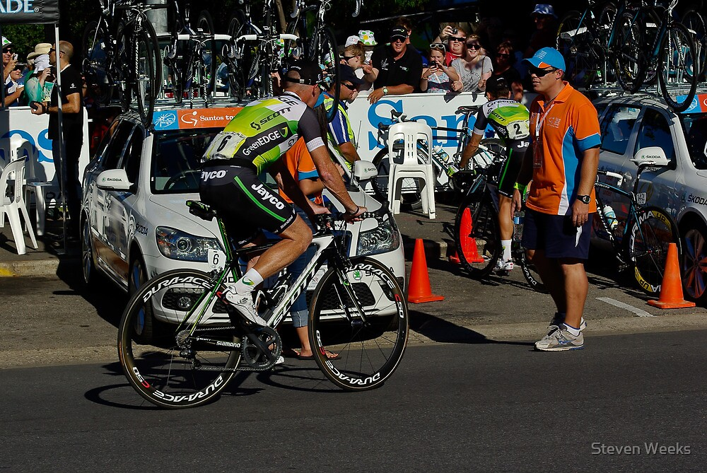 Stuart O'Grady, Tour Down Under 2012, Down Under Classic by Steven Weeks
