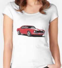 '68 Camaro Z28 Women's Fitted Scoop T-Shirt