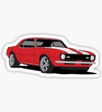 '68 Camaro Z28 Sticker