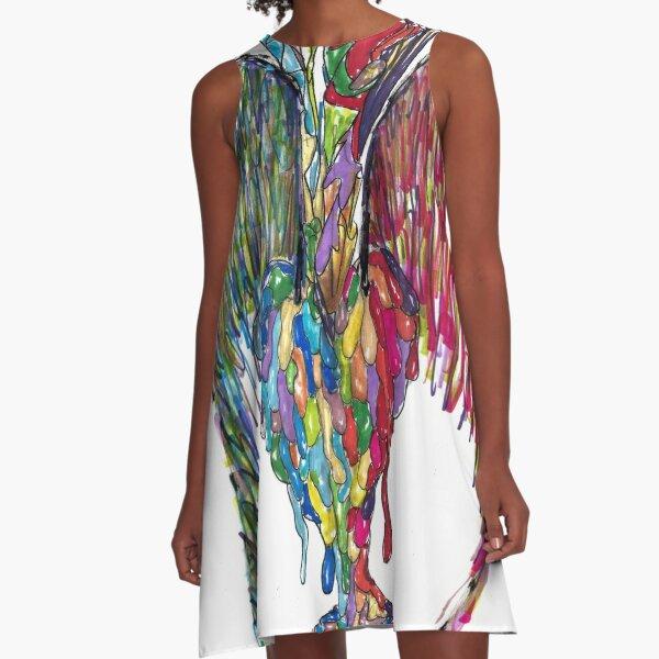 Love Takes Flight A-Line Dress