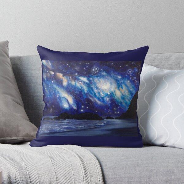 Oceans  Throw Pillow