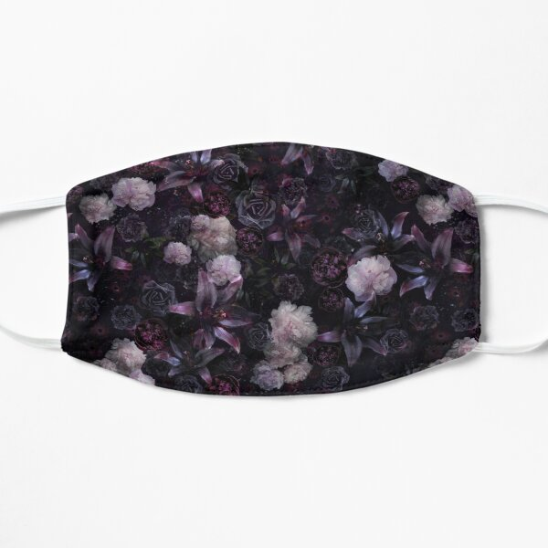 Midsummer Nights Dream #Dark Floral #Midnight #Black #Rose #Night Mask
