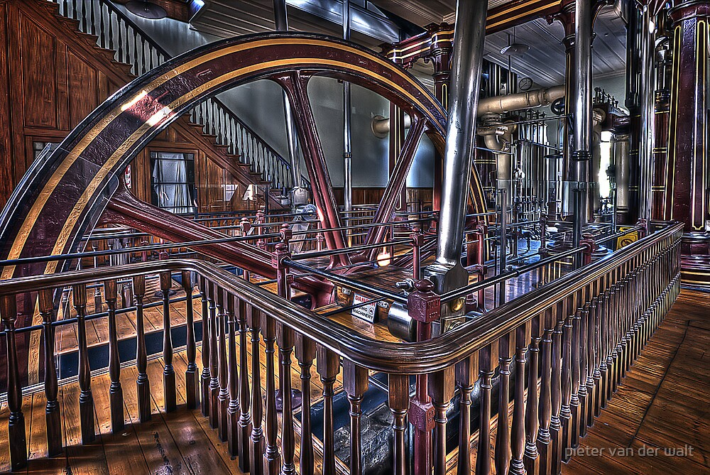 engine room by pieter van der walt