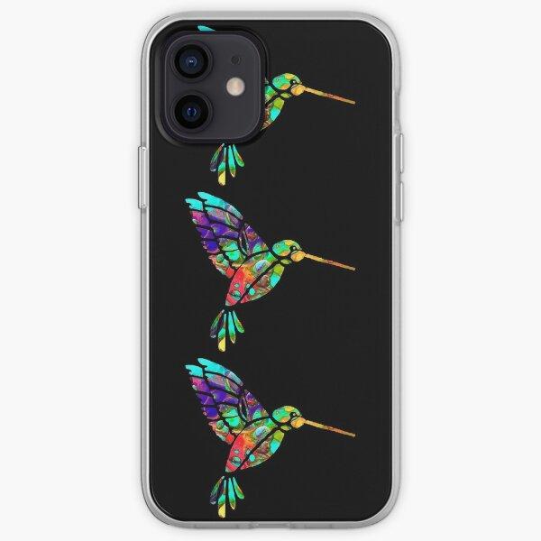 """Artsy Hummingbird"" iPhone Soft Case"