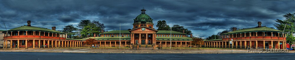 Colonial Elegance - Variation (45 Exposure HDR Panorama) - Bathurst Court House c1880, Bathurst, NSW Australia - The HDR Experience by Philip Johnson